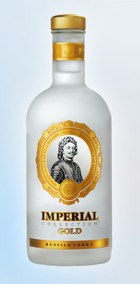 IMPERIAL COLLECTION GOLD 0, 7L Wodka