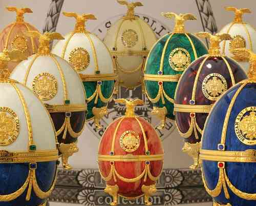 Imperial Collection in Faberge Ei