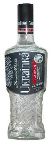 Ukrainka Platinum 0,7L 40% Vodka