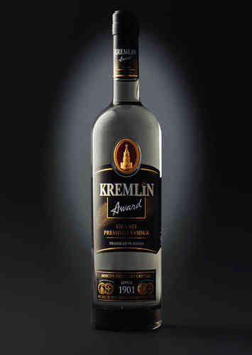 Kremlin Award Grand Premium Vodka 0,5L 40% alc.
