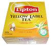 Tee Lipton Yellow Label Tea , English Tea 100 beutel